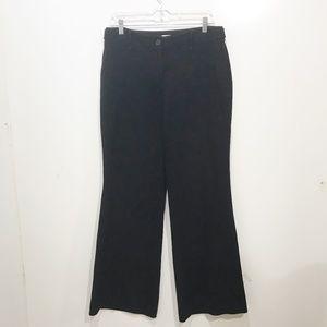 Loft 8 Black Dress Pants Julie Adjustable Waist